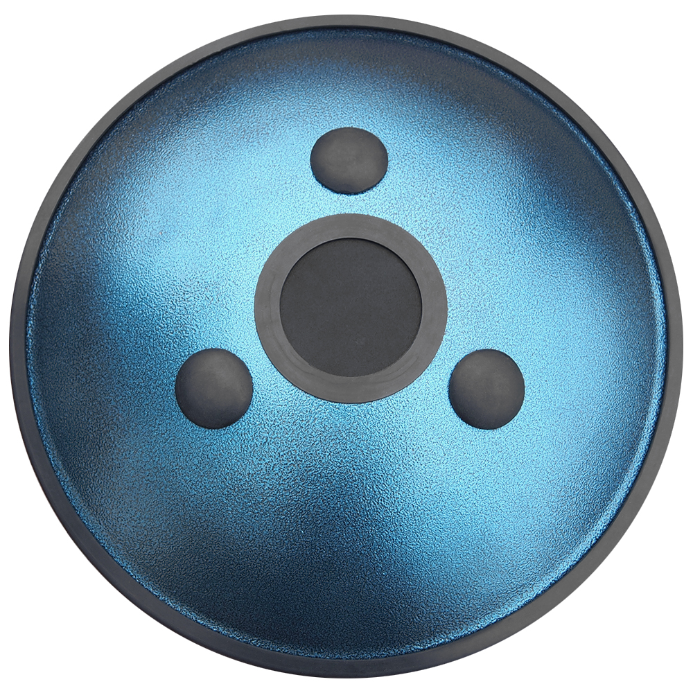 HAPI Steel Tongue Drum Omni Blue Bottom