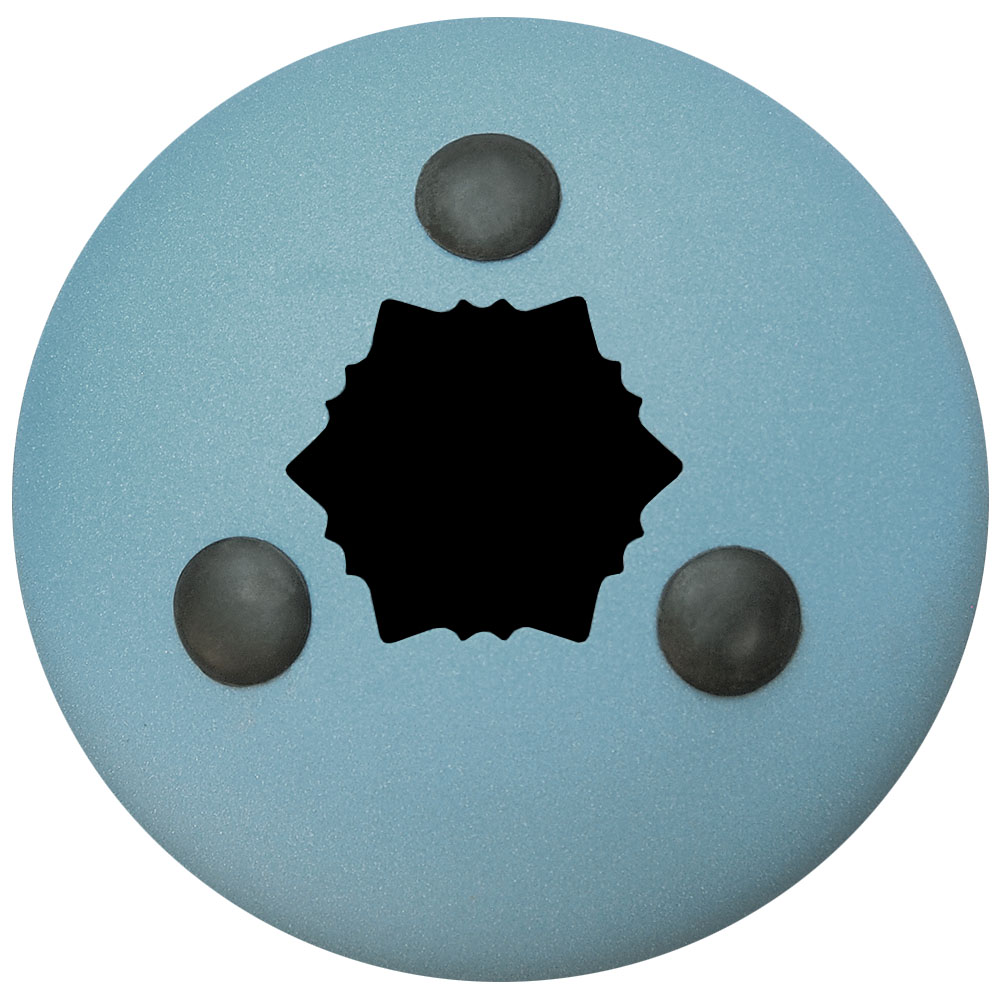 Hapi Steel Tongue Drum Origin Teal Bottom