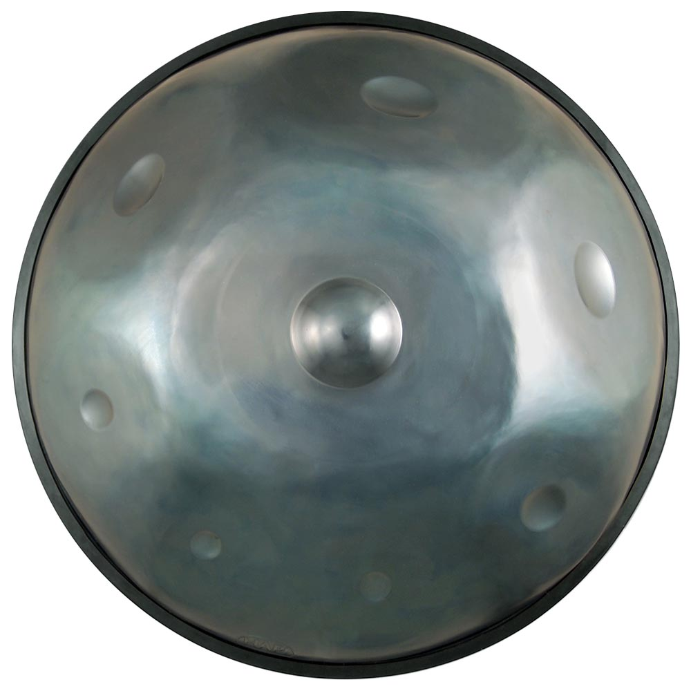 HANDPAN hapi steel drum ten note top