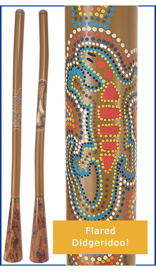 Didgeridoo Flared with free DVD