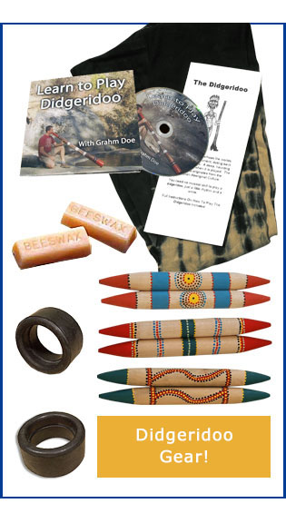 Didgeridoo Gear Bags Mouthpiece DVD Beeswax