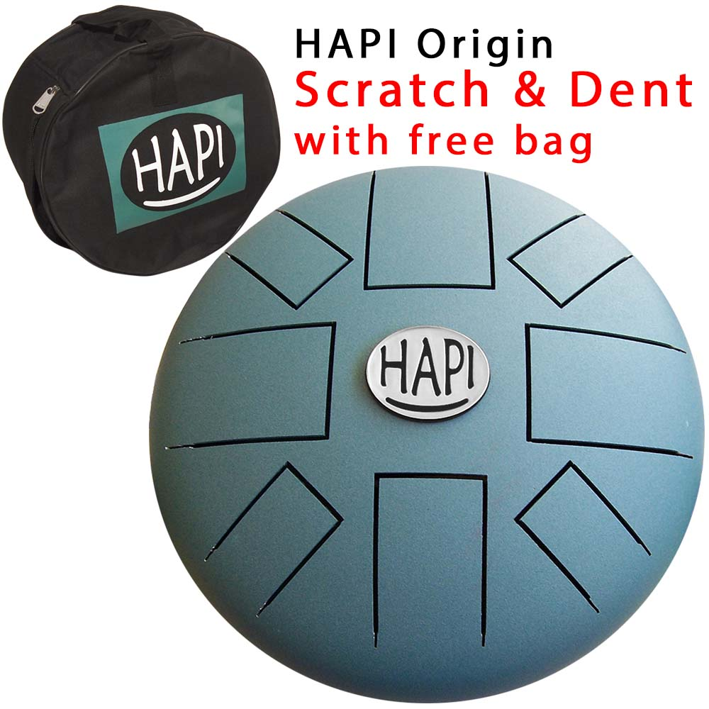 HAPI Steel Tongue Drum Origin